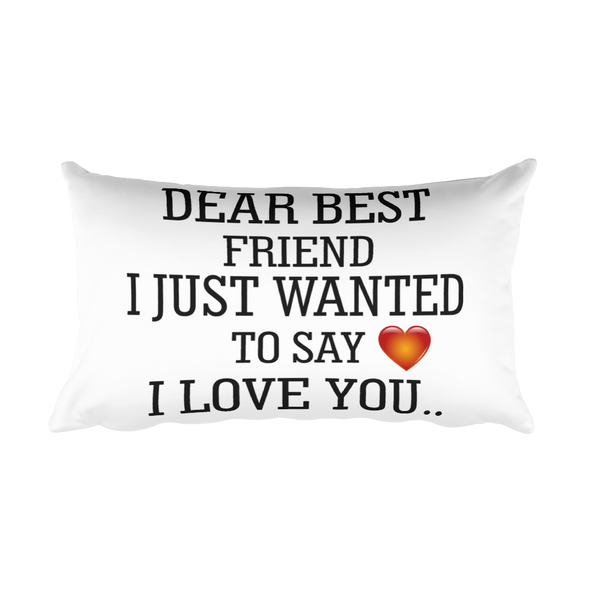 Wanted To Say I Love You Rectangular Pillow Case Star Elite Shop