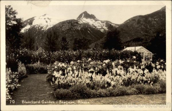 Blanchard Garden Skagway Alaska