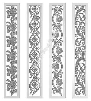 wood carving double door design  | 580 x 687