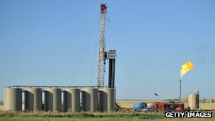 Oil well in US