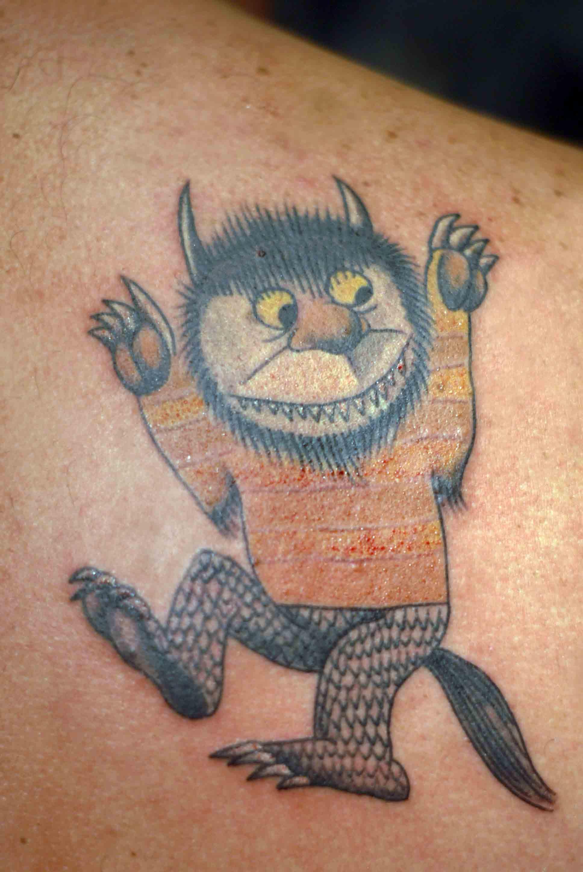 Where The Wild Things Are Haight Ashbury Tattoo