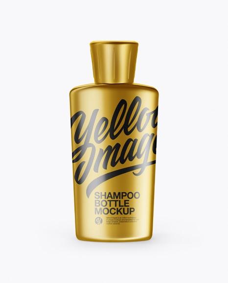 Download Metalllic Shampoo Bottle Mockup Object Mockups