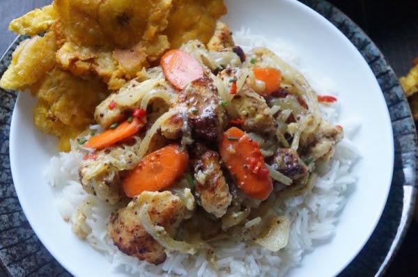 Fish - yassa - carrot - recipe - african - something - dish - function - work - theme