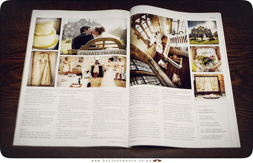 Pure Weddings Magazine - Hello Romance Wedding Photography