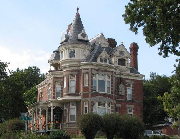 Haunted McInteer house in Atchison, Kansas