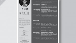 Contoh CV Mahasiswa Yang Baik dan Benar