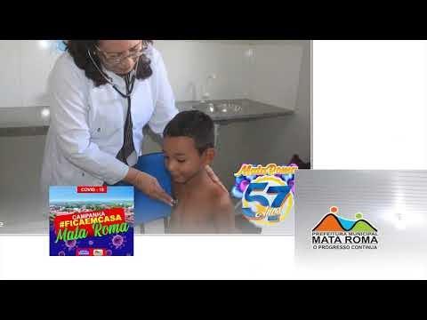 Prefeitura de Mata Roma homenageia profissionais de saúde que luta na prevenção do CORONAVÍRUS: