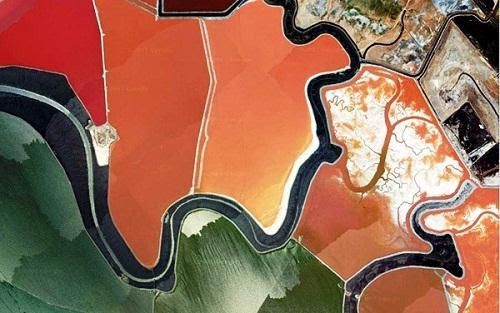 634878493270060000 Tuyệt vời sắc màu của ruộng muối ở San Francisco