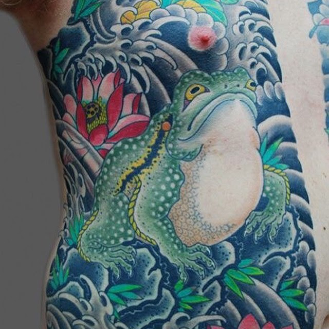80 Lucky Frog Tattoo Designs Meaning Placement 2019