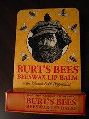 burt's bee lip balm