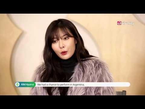 ✰VIDEO✰ 4 Minute w wywiadzie dla Seoul Star Track [Angielskie napisy]