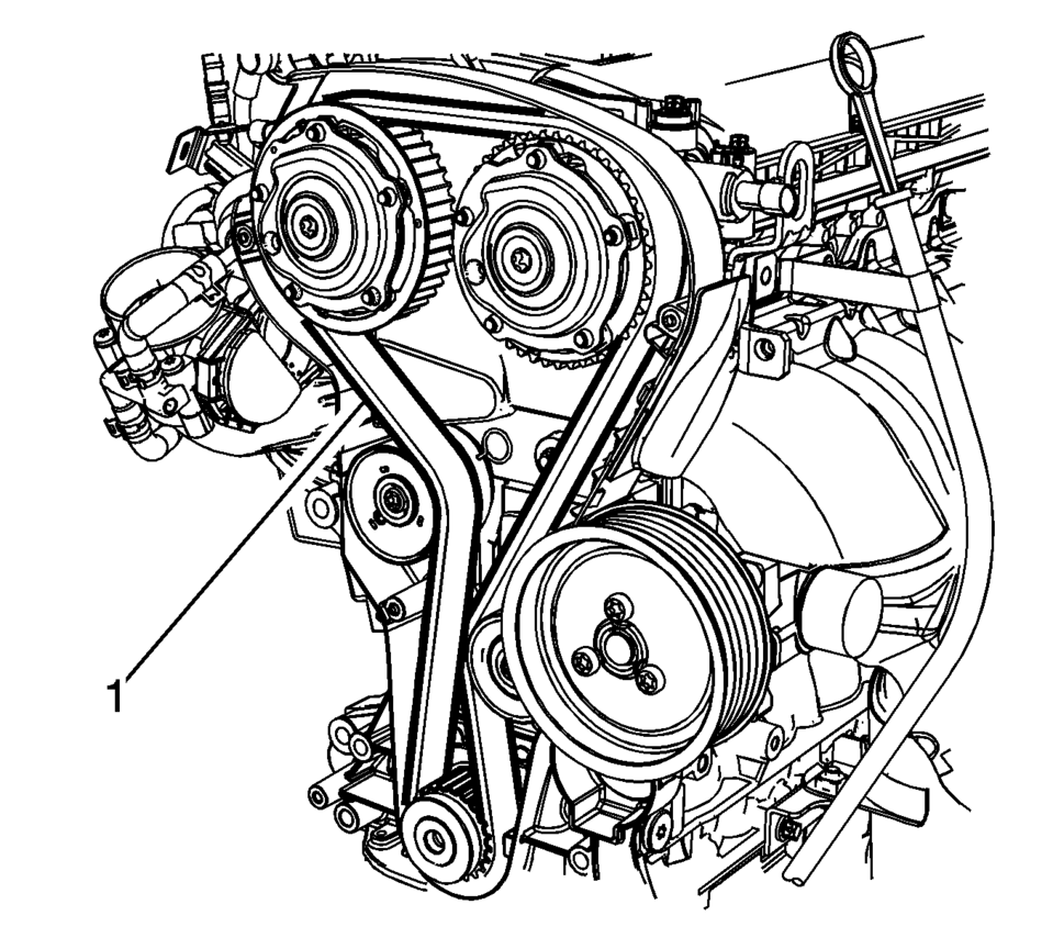 2008 honda accord serpentine belt diagram
