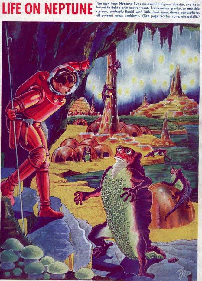 Paul - Life on Neptune (Fantastic Adventures v02 n03)