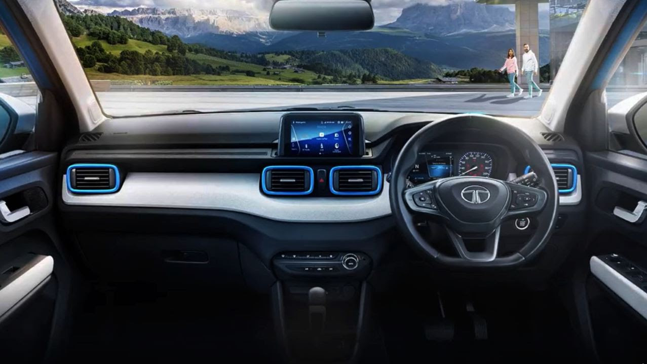 The Punch borrows several interior elements from the Tata Altroz. Image: Tata Motors