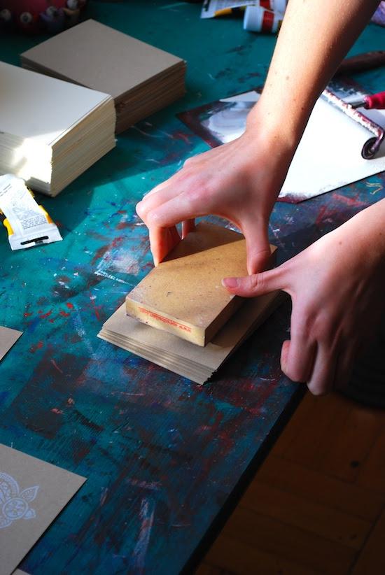 Printing Methods Block Printing Katharine Watson9 The Printing Process: Block Printing