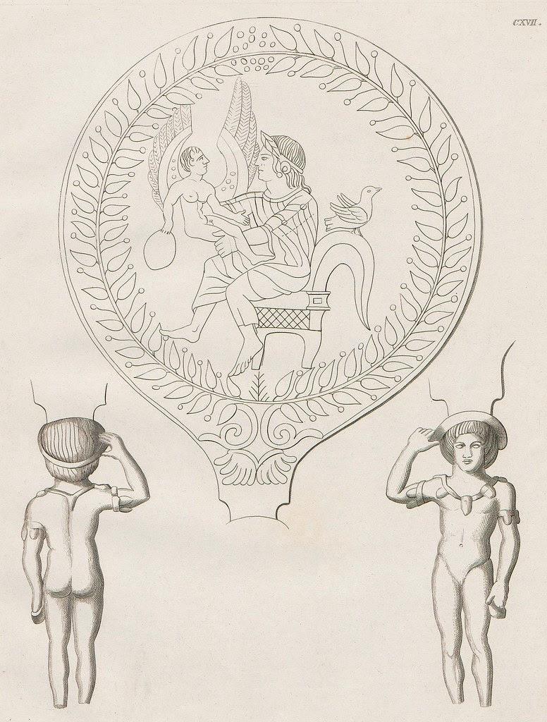 Etruskische Spiegel by Eduard Gerhard, 1840s o