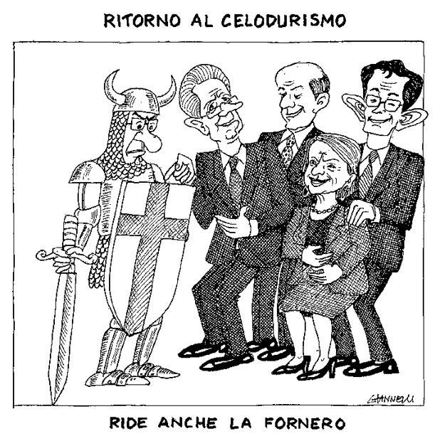 La vignetta di Giannelli - Dal Corriere della Sera di Venerdì 16 Dicembre 2011