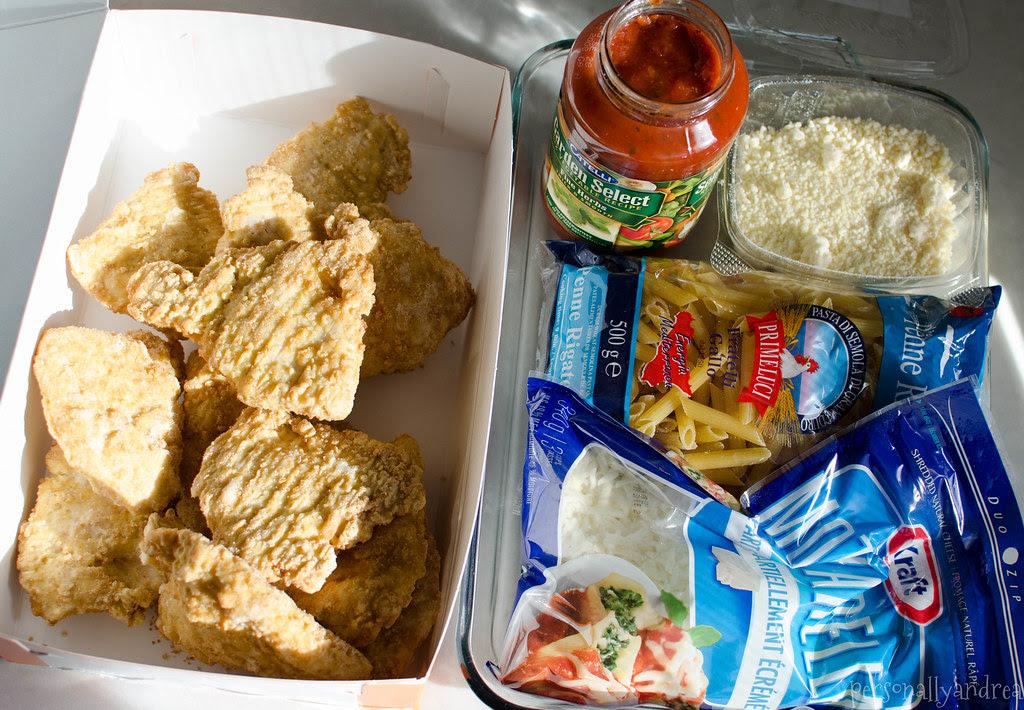 Cheater Chicken Parmesan | five staple ingredients | personallyandrea.com