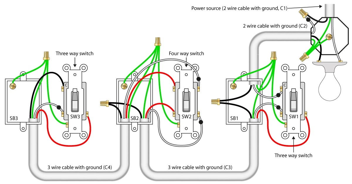 3 Wire Photocell Diagram
