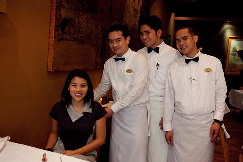 House of Wagyu: Accomodating Waiters