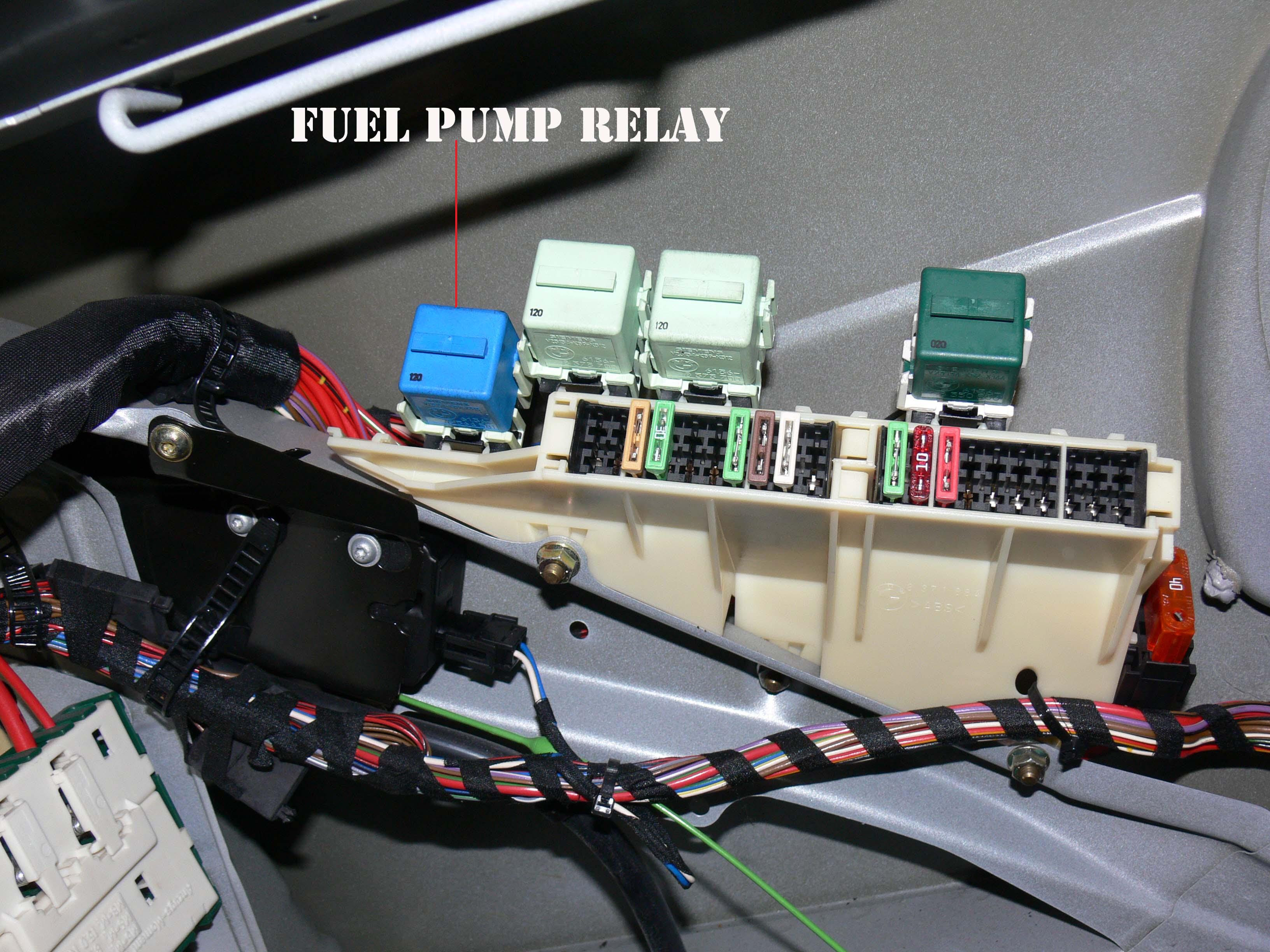 X5 E53 Fuse Box Location