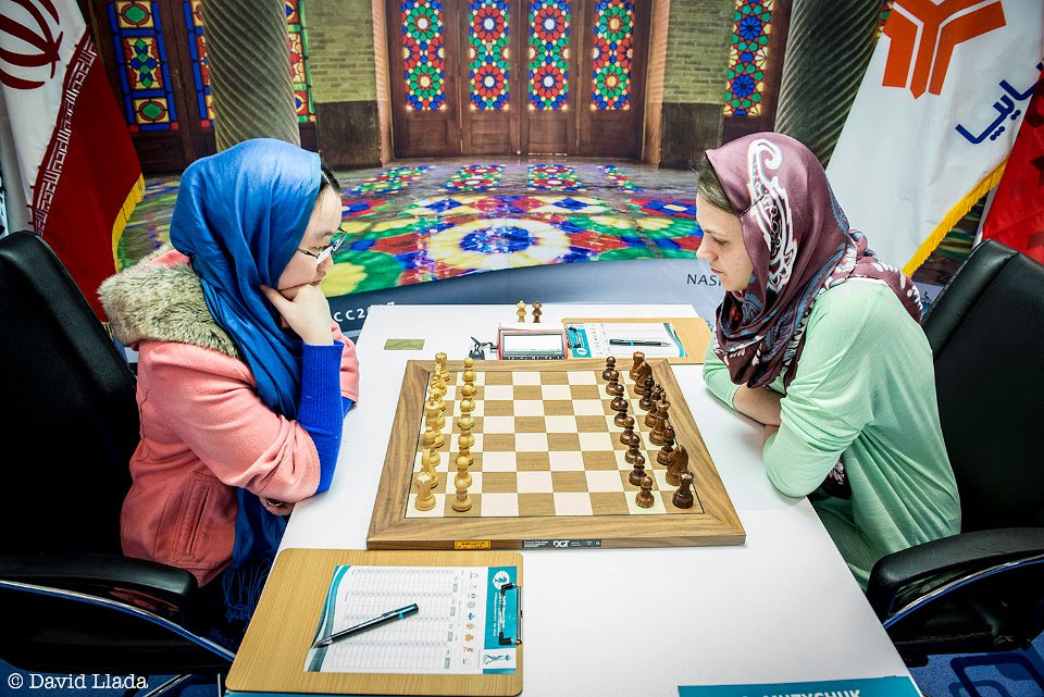 r 20170228 teheran wwc final g2 8008  Anna Muzychuk Tan Zhongyi UKRAINE CHINA