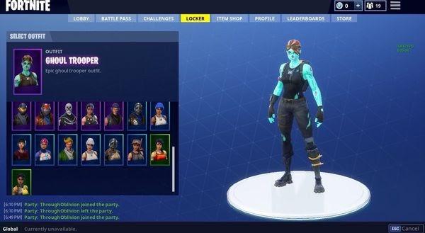 Buy Skull Trooper Account Fortnite