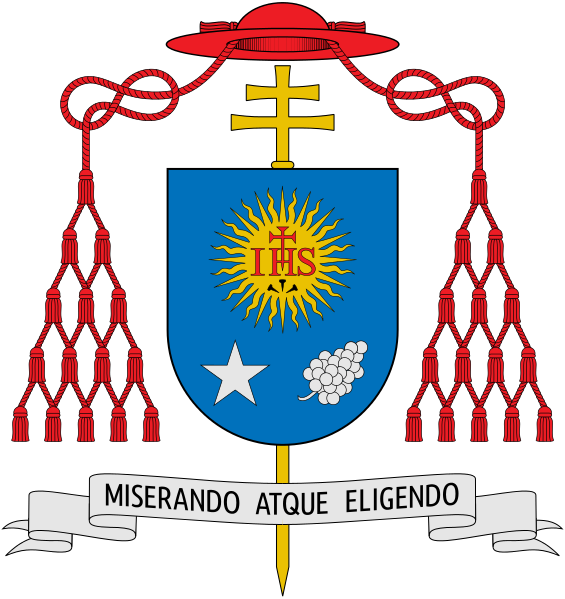 File:Coat of arms of Jorge Mario Bergoglio.svg