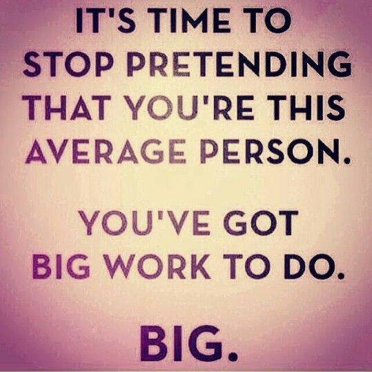 Inspirational Picture Quote Its Time To Stop Pretending That You