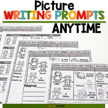 Anytime Pick a Prompt! Fun writing prompts!