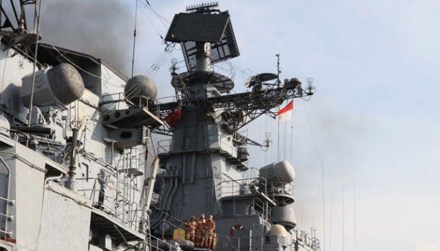 Kapal Perusak `Bystry` Andalan AL Rusia Merapat di Tanjung Priok