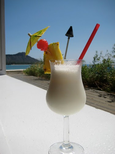 Pina Colada and Diamond Head