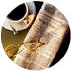 Jornal e café