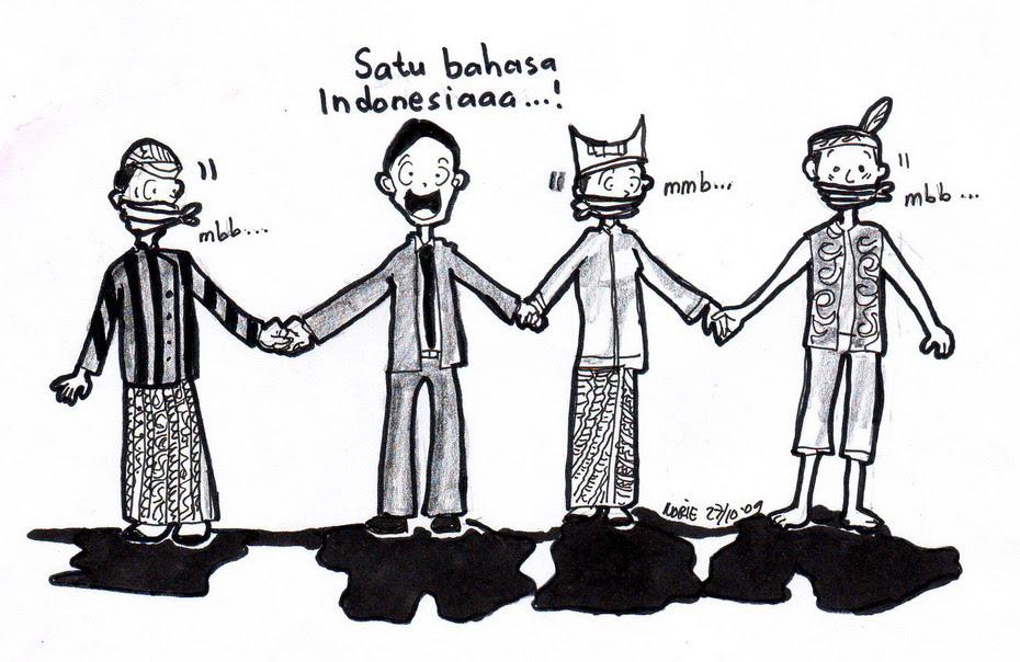 Gambar Tentang Satu Nusa Satu Bangsa Kartun :)