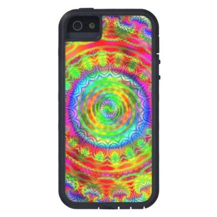 Tiedye Target iPhone 5 Case