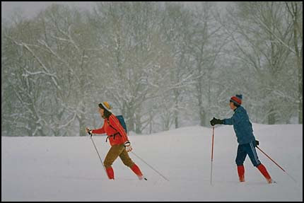 X-country skiers