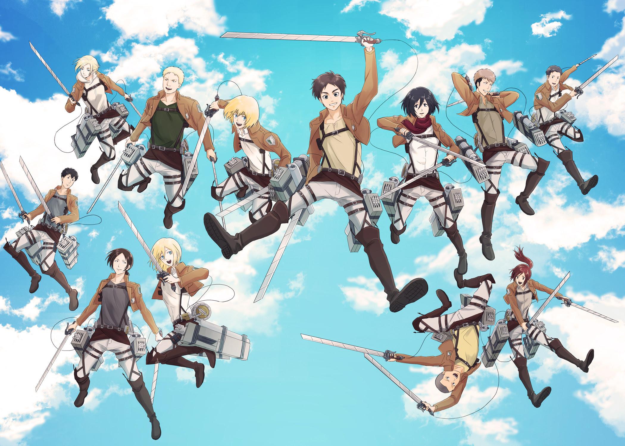Attack On Titan Chibi Wallpaper 69 Images