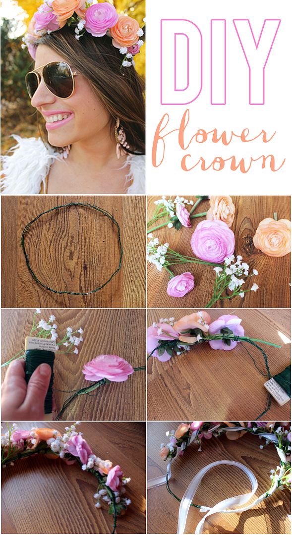 La Petite Fashionista   DIY Flower Crown Tutorial
