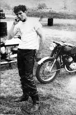 Nelson Ledges OH, 1965, post-race