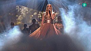 Ver vídeo  'Darin y Agnes han actuado en el intervalo de la segunda semifinal de Eurovisión 2013'