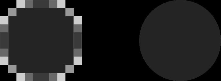 Clipart - Bitmap vs. vector