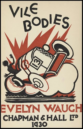 Vile Bodies bookcover - Evelyn Waugh (1930)