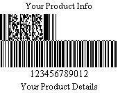 Databar Code 128 Set B