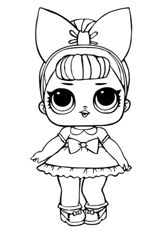 600 Lol Doll Coloring Pages Images , Free HD Download