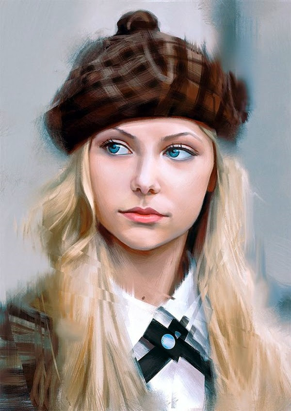 Spectacular Digital Painting Portraits (24)
