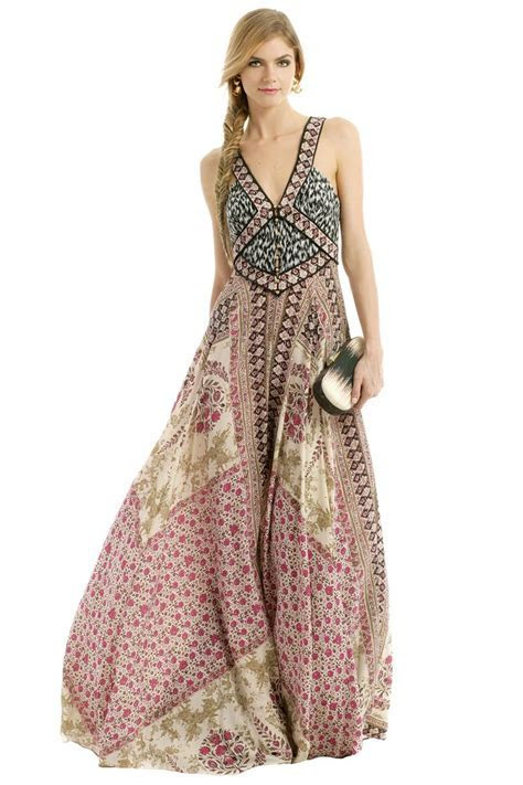 'Morocco Maxi' by Marchesa Voyage   Such a pretty dress to