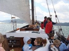 Regresso com navegação à vela