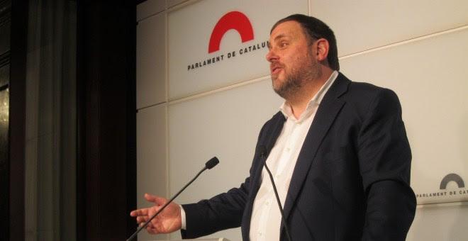 Oriol Junqueras, vicepresident de la Generalitat. /EUROPA PRESS