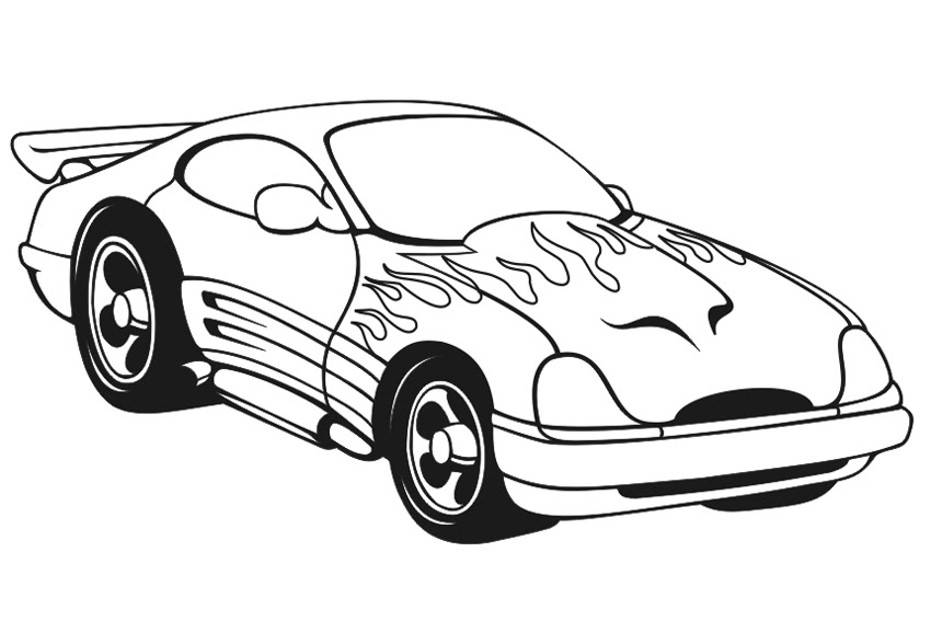 Download Racing Car Coloring Pages  coloringkids.org - Coloring Kids