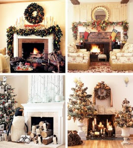 33 Mantel Christmas Decorations Ideas | Interior Design Ideas ...